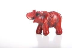 Elefante, isolato su fondo bianco Immagine Stock Libera da Diritti