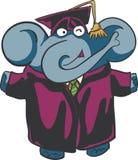 Elefante laureato Fotografie Stock