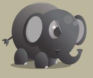 Elefante lindo Imágenes de archivo libres de regalías