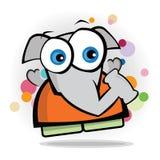 Elefante - mascota de la subasta Imágenes de archivo libres de regalías