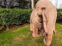 Elefante na era de Tawarawadee de 3Sudeste Asiático Foto de Stock
