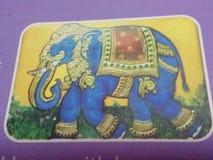 elefante para o rei foto de stock royalty free