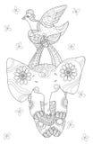 Elefante pequeno bonito Ilustração Stock