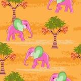 Elefante rosado Fotografía de archivo
