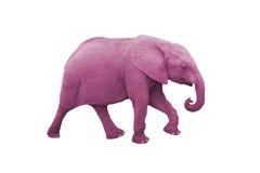 Elefante rosado Fotos de archivo