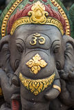 Elefante sagrado no templo do budismo Imagem de Stock
