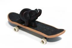 Elefante scuro. Fotografia Stock