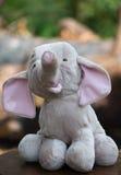 Elefante suave del juguete Imagen de archivo