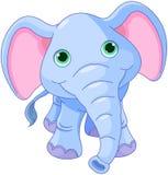 Elefante sveglio Immagini Stock