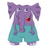 Elefante sveglio Immagini Stock Libere da Diritti