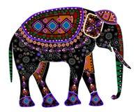 Elefante étnico Foto de archivo libre de regalías