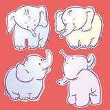 Elefanten stock abbildung
