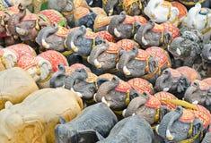 Elefanten für Anbetung. Stockfotografie