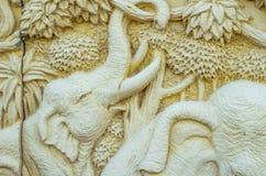 Elefantes decorativos do arenito Imagem de Stock Royalty Free