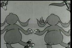 Elefantes del baile ilustración del vector