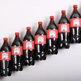 Elefantes republicanos en las botellas de la bebida Imagenes de archivo