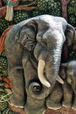 Elefantform Stockfotografie