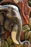 Elefantform Stockfotos