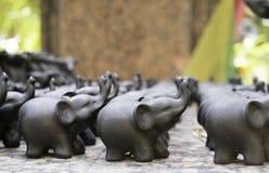 Elefantform Stockfoto