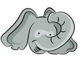 Elefantframsida Royaltyfria Foton