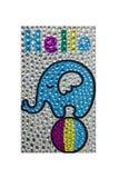 Elefantfunkeln jewelly Stockbild