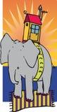 Elefanthus Royaltyfri Foto