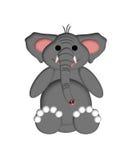 elefantillustration Royaltyfri Bild
