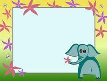 Elefantillustration Royaltyfria Foton