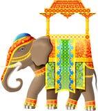 elefantindier Arkivfoton