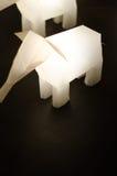 Elefantlampe Lizenzfreies Stockbild