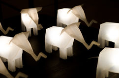 Elefantlampe Lizenzfreie Stockfotografie