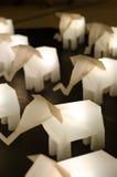 Elefantlampe Stockfoto