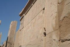 Elefantlik ö & Aga Khan Mausoleum Arkivfoto