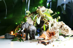 Elefantmodell Arkivbilder