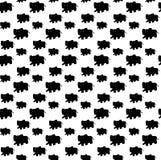 Elefantmusterillustration nahtlos Stock Abbildung
