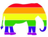 elefantrepublikan Arkivfoto