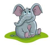 Elefantschätzchen Stockbilder