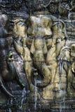 Elefantskulpturer Royaltyfri Foto