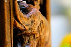 Elefantstatue benutzt für Gartendekoration Lizenzfreie Stockfotos