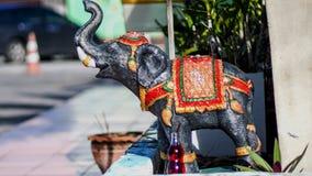 Elefantstatuen Stockfotografie