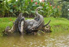 elefantstaty Fotografering för Bildbyråer