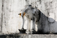 Elefantstaty Arkivbild