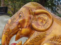 Elefantstaty Arkivbilder