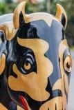 Elefantstaty Royaltyfria Bilder
