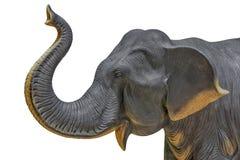 Elefantstatyer Arkivbilder