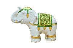 elefantstatysten Arkivfoto