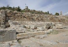 Elefsina,考古学站点 图库摄影