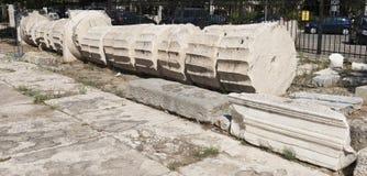 Elefsina,考古学站点 库存图片