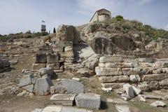 Elefsina,考古学站点 免版税图库摄影