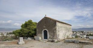 Elefsina,考古学站点 库存照片